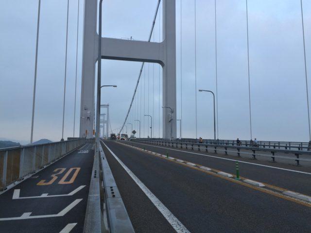 来島海峡大橋 サイクリングしまなみ