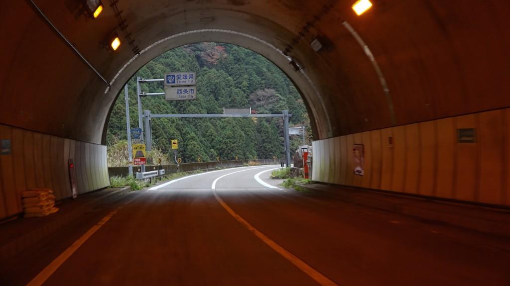 新寒風山んトンネル