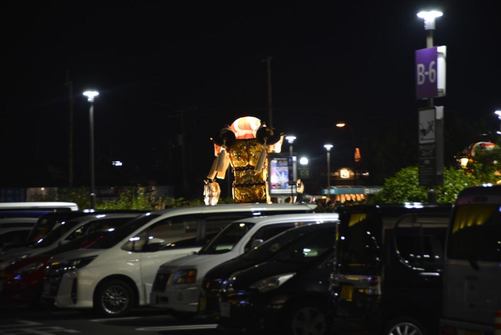 新居浜太鼓祭り イオンモール新居浜駐車場にて 川西地区