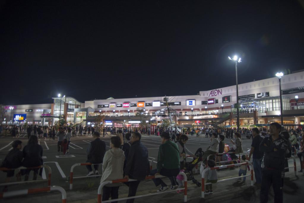 新居浜太鼓祭り 川西地区かきくらべ イオンモール新居浜
