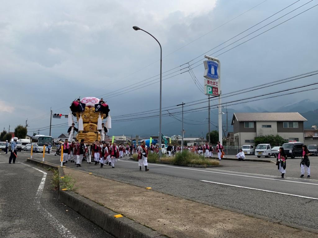 大生院の新居浜祭り