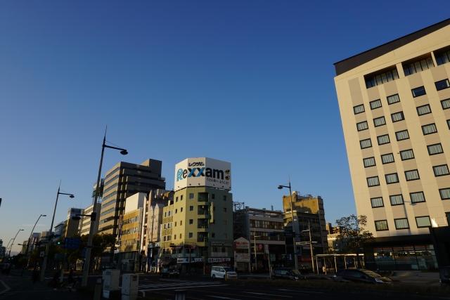 香川県 JR高松駅前