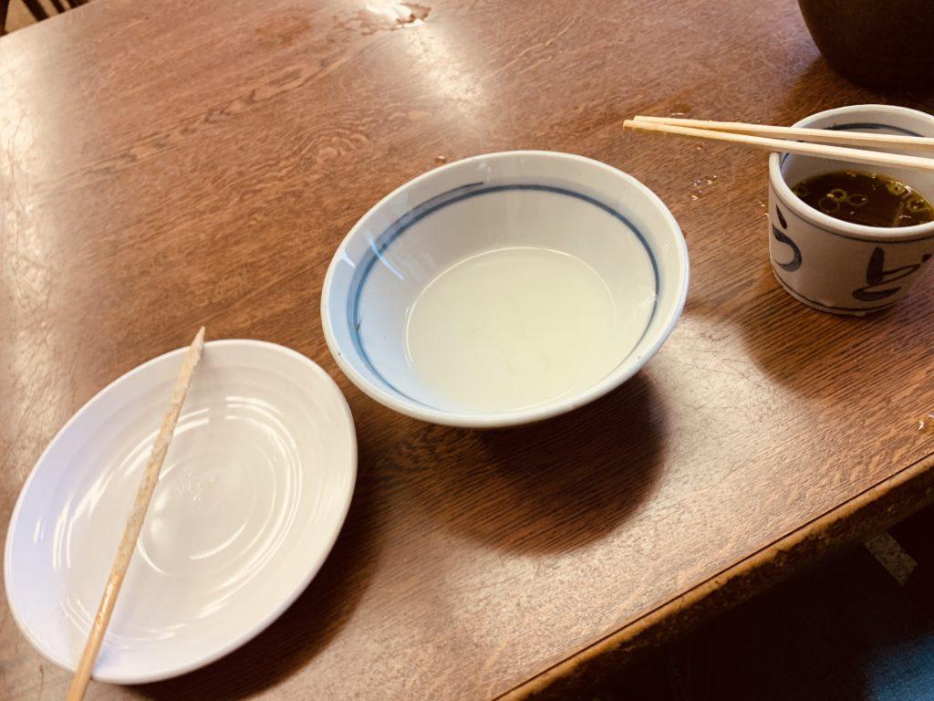 長田うどん 完食