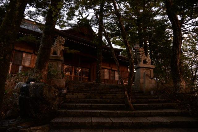 石鎚神社 土小屋遙拝殿