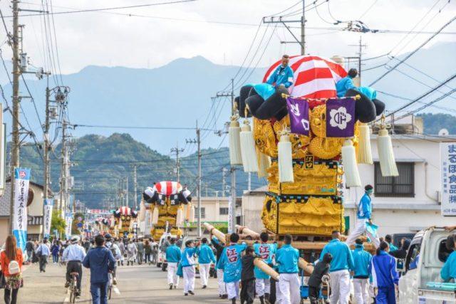 新居浜太鼓祭り2日目