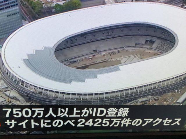 東京オリンピック チケット抽選販売結果