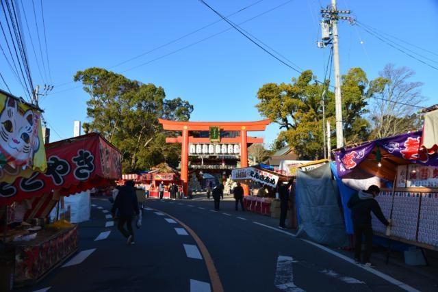 椿神社 歩行者天国