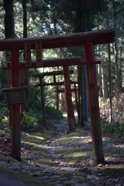 横峰寺の鳥居