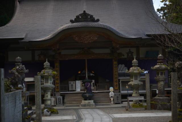 横峰寺境内