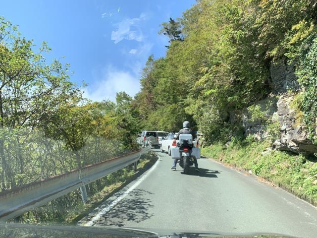 渋滞するUFOライン