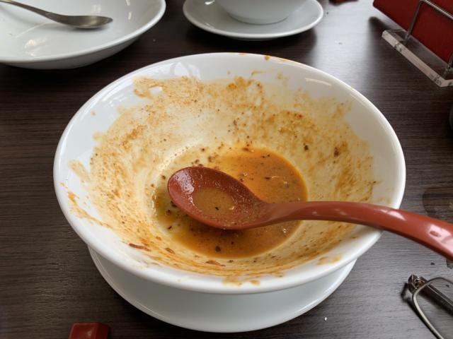 門福 食楽命泉 濃いめの担々麺